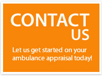 Contact AmbER Appraisals today for an expert ambulance appraisal